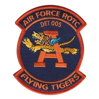 AFROTC Det 005 Auburn University Patches
