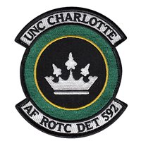 AFROTC Det 592 University of North Carolina Charlotte Patches