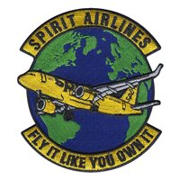 Spirit Airlines Patches