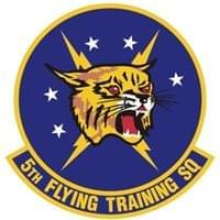 5th Flying Training Squadron (5 FTS) Custom Patches