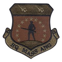ANG Massachusetts Patches