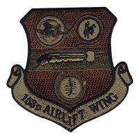 ANG Wyoming Patches