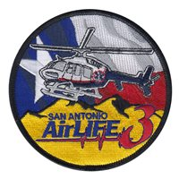San Antonio AirLife Patches