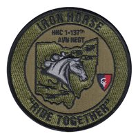 1-137 AVN REGT Patches