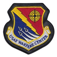 USAF Warfare Center Patches