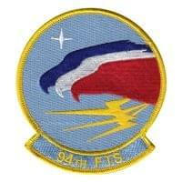 94th Flying Team Squadron (94 FTS) Custom Patches