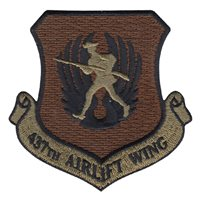 437 AW Patches