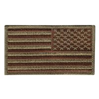 USA Flag Spice Brown OCP Patches