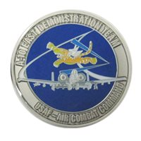 A-10 East Demo Team Challenge Coins