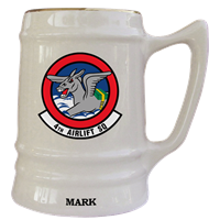 MCCHORD AFB, WA Custom Squadron Mugs