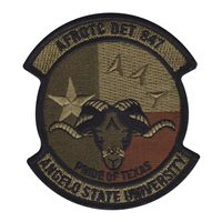 AFROTC Det 847 Angelo State University Patches