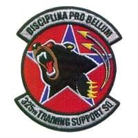 325th Training Support Squadron (325 TRSS) Custom Patches