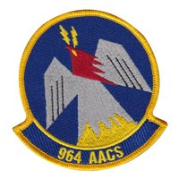 964 AACS Custom Patches