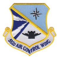 552nd Air Control Wing (552 ACW) Custom Patches