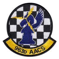 963 AACS Custom Patches