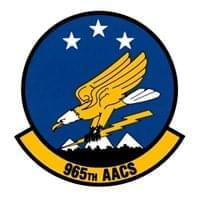 965 AACS Custom Patches