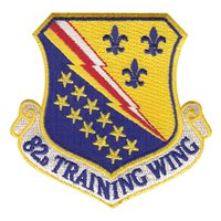 82d Training Wing (82 TW) Custom Patches