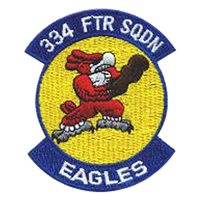 334th Fighter Squadron (334 FS) Custom Patches