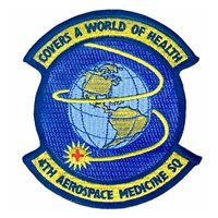 4th Aerospace Medicine Squadron (4 AMDS) Custom Patches