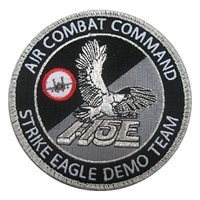 F-15E Demo Team Custom Patches