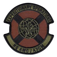 HQ AMC Expeditionary Operations Patches