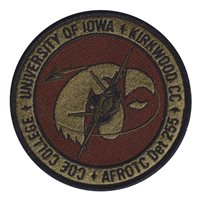 AFROTC Det 255 University of Iowa Patches