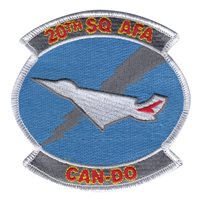 USAFA CS-20 Patches