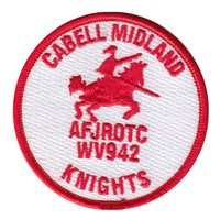 AFJROTC WV-942 Cabell Midland High School Patches
