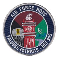 AFROTC Det 905 Washington State University Patches
