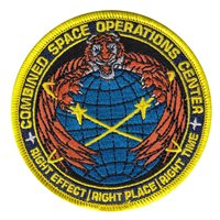 Combined Space Operations Center Patches