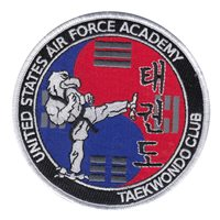 USAFA Cadet Taekwondo Club Patches |