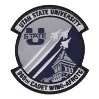 AFROTC Det 860 Utah State University Patches