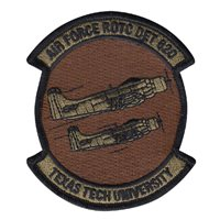AFROTC Det 820 Texas Tech University Custom Patches