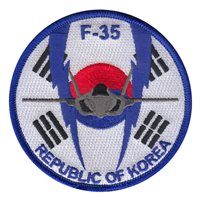 ROK Air Force Custom Patches