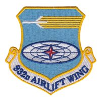 932 AW Custom Patches