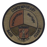 ANG Contemporary Base Issues Course Custom Patches