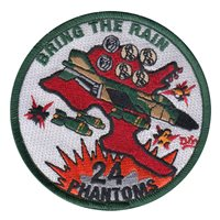 USAFA CS-24 Patches