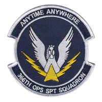 366th Operational Support Squadron Patches from Mt Home AFB, ID