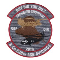 638 ASB Custom Patches