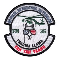 187 MED BN Custom Patches
