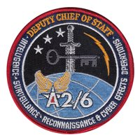 AF/A2/6 Custom Patches