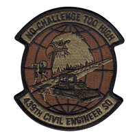 439 CES Custom Patches