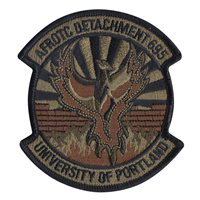 AFROTC DET 695 University of Portland Custom Patches