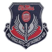 AFROTC Det 430 University of Mississippi Patches