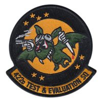 422 TES Custom Patches