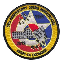 French Air Force Academy 50 Anniversary Patches