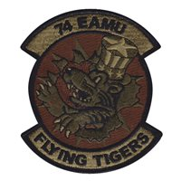 74 AMU Custom Patches