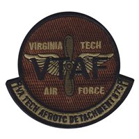 AFROTC Det 875 Virginia Tech Memorial Custom Patches