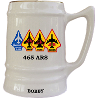 Tinker Air Force Base Custom Squadron Mugs