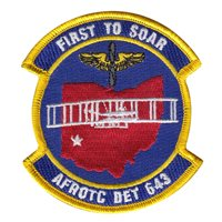 AFROTC Det 643 of Wright State University Patches